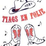 Logo Tiags en folie